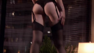 Rachel Miner - Californication (butt thong)