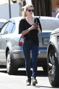 Emma Roberts heads to Kings Road Cafe in West Hollywood 10/05/13 (HQ)
