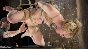 HOGTIED: Feb 02, 2017 – Anna Tyler/Suspension Slut Anna Tyler Succumbs to Squirting Orgasms