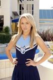 Hayden blue cheerleader outfit