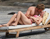 Heidi Montag show off her body in bikini at the beach in Costa Rica - Hot Celebs Home