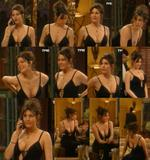 Astrid Veillon (french actress) @ J2ST : cleavage & lingerie (3 vids)