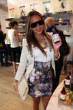 Adrienne Bailon @ Kiehl's Earth Day Campaign in NY | April 20 | 18 leggy pics