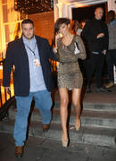 Frankie Sandford Leaving a Bar in Dublin 19th December x8
