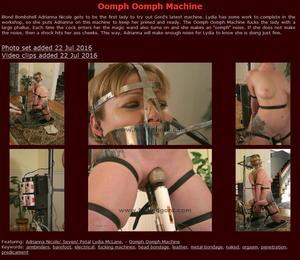 Houseofgord: Oomph Oomph Machine