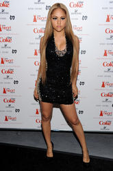 Kat Deluna @ The 2011 Heart Truth's Red Dress Collection in NYC - Feb. 9 (5HQ)
