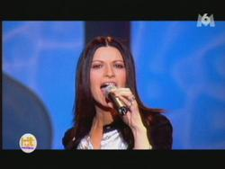 Laura Pausini and Helene Segara