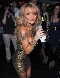 Tila Tequila leggy and cleavagy in slutty outfit perform at Studio Valnonne in London - Hot Celebs Home